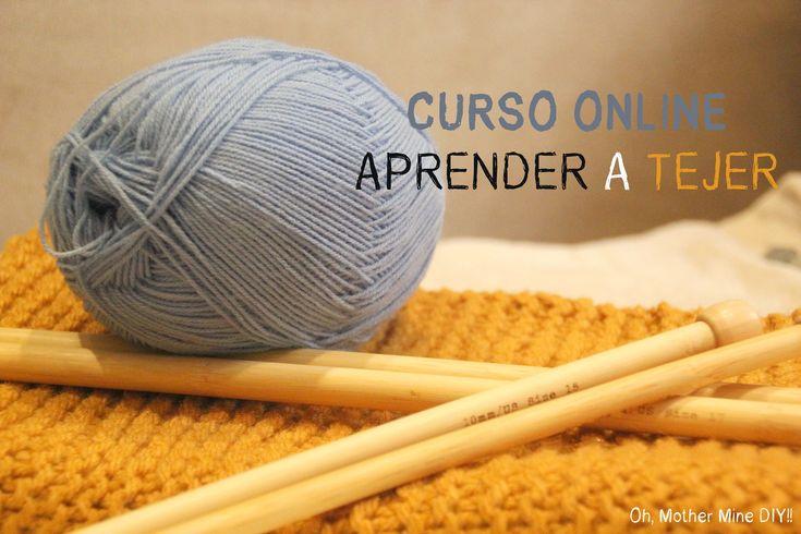 Curso online gratis Aprender a tejer 4: Como hacer aumentos y disminucio...