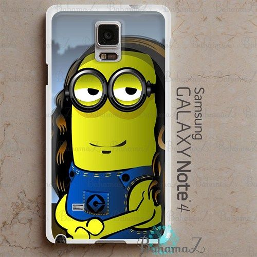 Minion Lisa Samsung Galaxy Note 4 Case