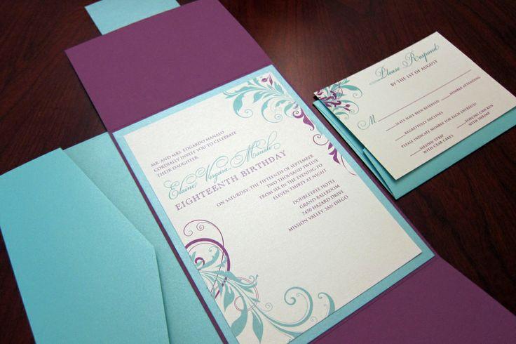 Purple And Blue Wedding Invitations: Best 25+ Purple Turquoise Weddings Ideas On Pinterest