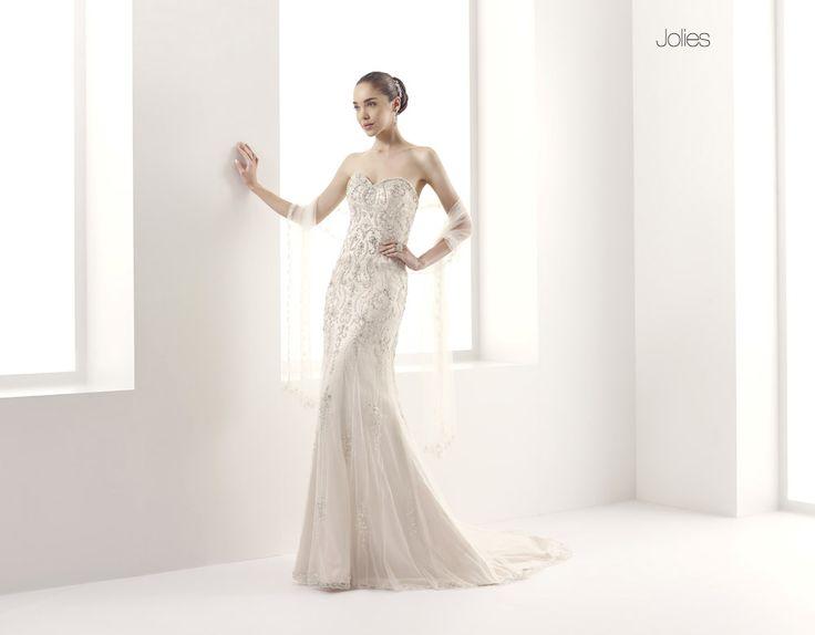 GLAMOUR JOLLIES-32 abiti da sogno, per #matrimoni di grande classe: #eleganza e qualità #sartoriale  www.mariages.it