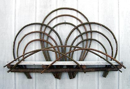 """around the bend willow furniture :: 54"""" shelf :: Tables & Shelving"""