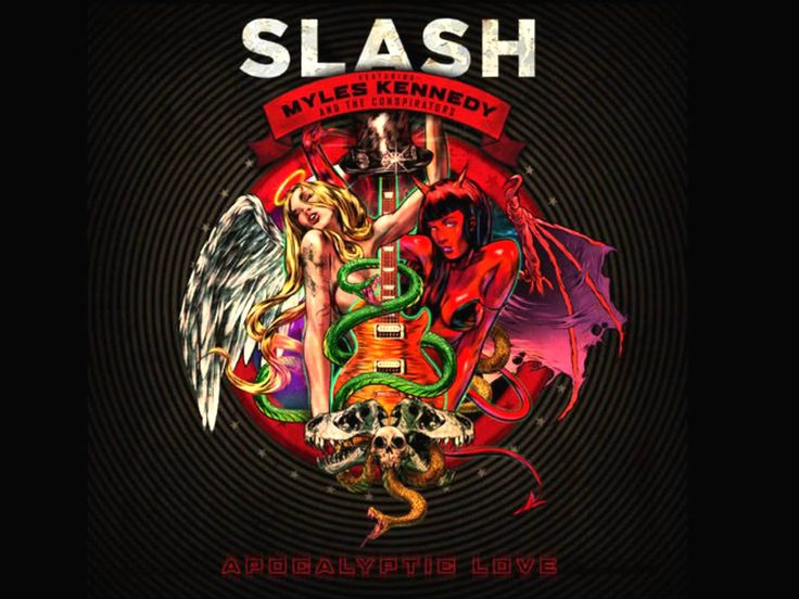 SLASH - Apocalyptic Love (Full Album) (1080p)