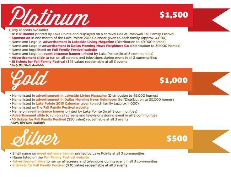7 best graphic design  sponsorship forms images on