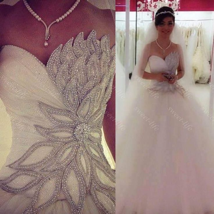 25  best ideas about Bling wedding dresses on Pinterest | Sparkly ...