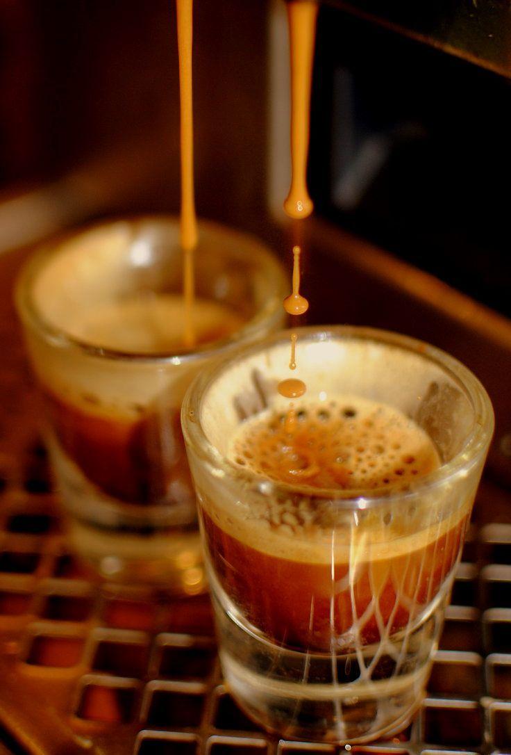Double espresso shot...