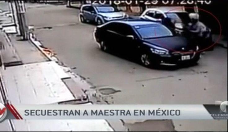 Mexico: Secuestran A Maestra En Plena Luz Del Día