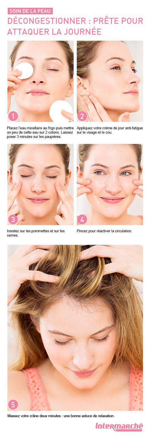 Apaiser et décongestionner la peau est essentiel pour avoir une bonne mine…