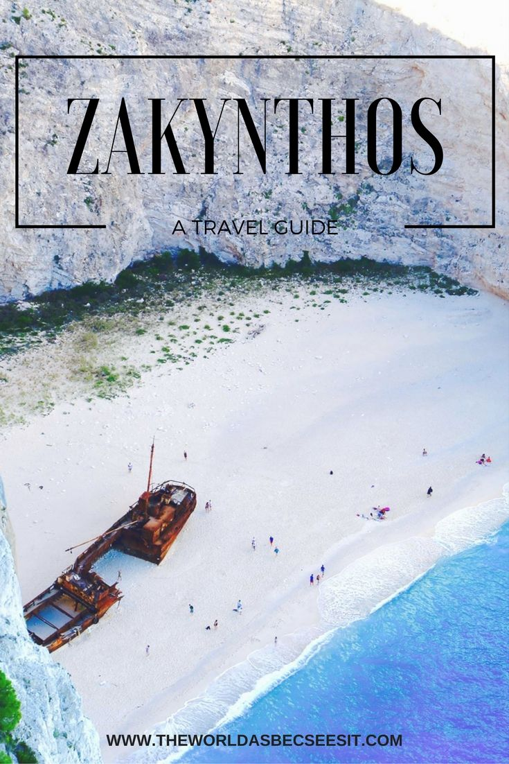 Travel Guide of where to stay, what to see and what to do on the Island of Zakynthos, Greece