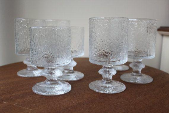 Iittala Senaattori Timo Sarpaneva Wine Glasses Water by foxbride