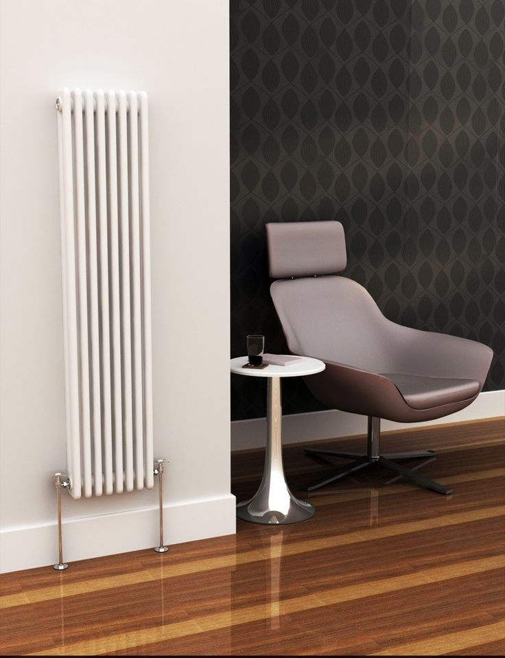 Eastgate Lazarus Vertical 2 Column Radiator 1192mm x 490mm - 3500 to 4000 BTUs Radiators - View Panel Rads by BTUs - Central Heating Radiators - Radiators