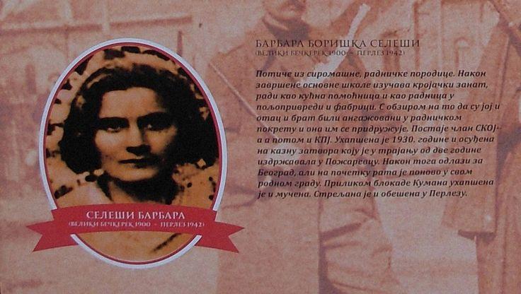#BarbaraBoriškaSeleši (1900-1942) /Izcor: Izložba na trgu/ #Zrenjanin #nagybecskerek https://flii.by/file/d78uwg91a76/