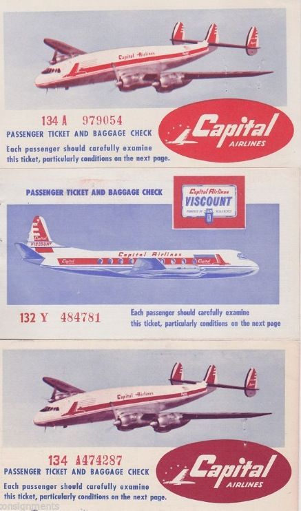 Capital Airlines ticket