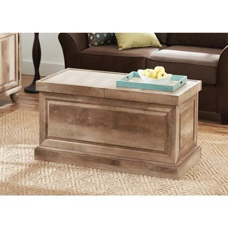 Better Homes and Gardens Crossmill Collection Coffee Table, Weathered - Walmart.com
