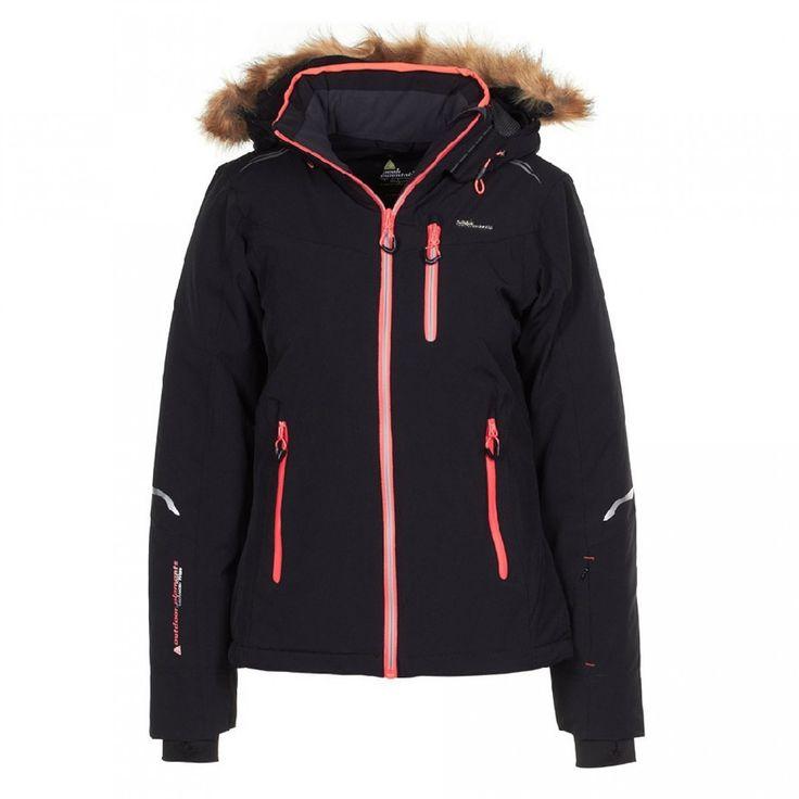 Peak Mountain - Blouson de ski femme ARTEMA-noir – achat et prix pas cher - Go Sport