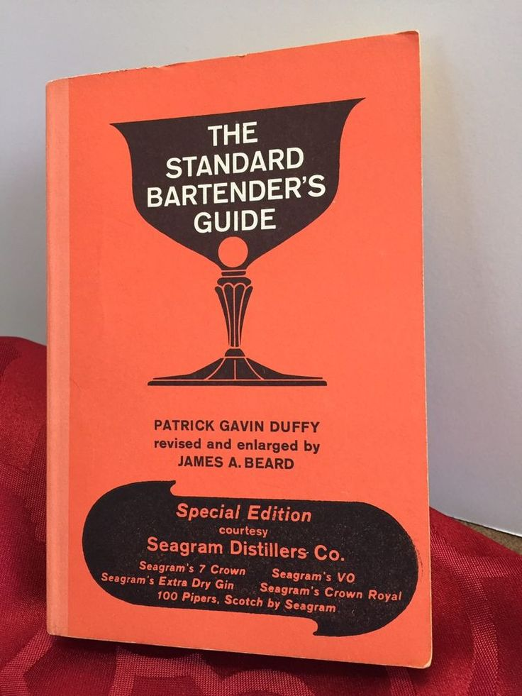THE BOOK THE STANDARD BARTENDER'S GUIDE IS IN GOOD VINTAGE CONDITION. The pages are a bit yellowed as is common due to age. Cover is in very good condition WRITTEN BY PATRICK GAVIN DUFFY AND REVISED BY JAMES A. BEARD, THE BOOK WAS PUBLISHED IN 1967 BY POCKET BOOKS. A SOFTCOVER, VINTAGE BOOK THAT IS SURE TO MAKE A GREAT ADDITION TO ANY COLLECTION. Please note I have used my best efforts to describe condition. I am not a book grader or a professional. | eBay!