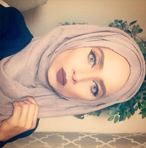 "@toofaced liquid lipsticks are the best. I am wearing ""naughty by nature"" #toofacedcosmetics #nyxcanada #inglotcanada #samansmakeuphijabs #canadianblogger #canadianbeautyblogger #cosmeticsreview  10% off these gorgeous contact lenses. ❤️❤️coupon code ""MAKEUPHIJABS10""❤️❤️Get them now before they are sold out!  @glamlenses"