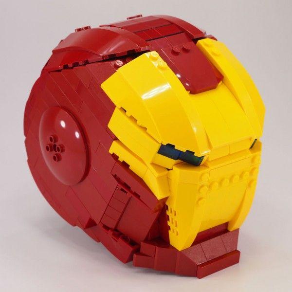 LEGO Iron Man Helmet (by Mr.Attacki)