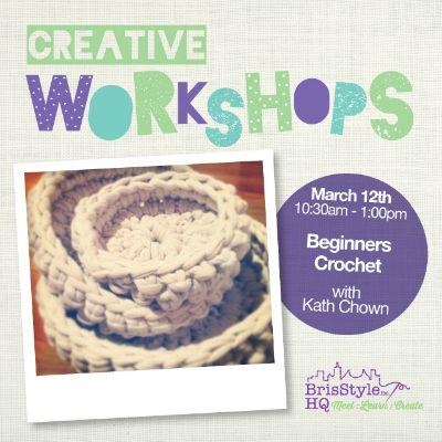 Beginners Crochet March 12th