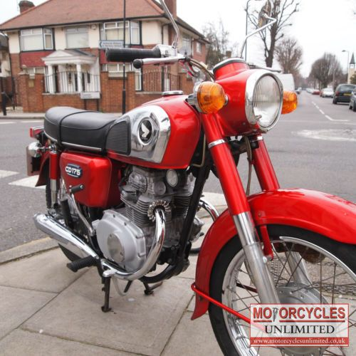 1977 Honda CD175 Classic Bike for Sale   Motorcycles Unlimited