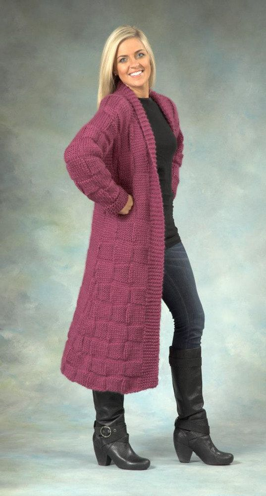 Woman's Coat in Plymouth Yarn De Aire - 2368 - Downloadable PDF. Discover more patterns by Plymouth Yarn at LoveKnitting. We stock patterns, yarn, needles and books from all of your favourite brands.