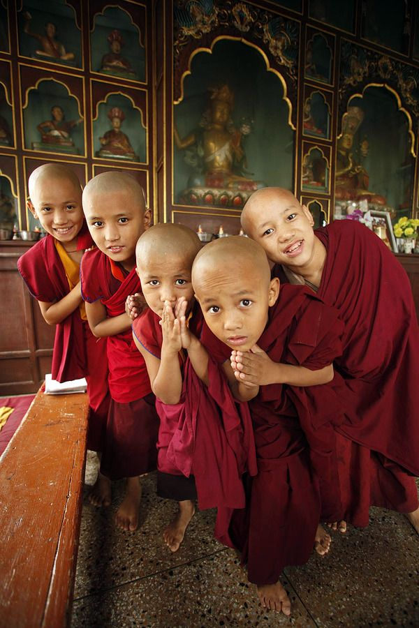 Life in a monastery of Tibetan Buddhist Monks. by Axel Alexander, via Behance