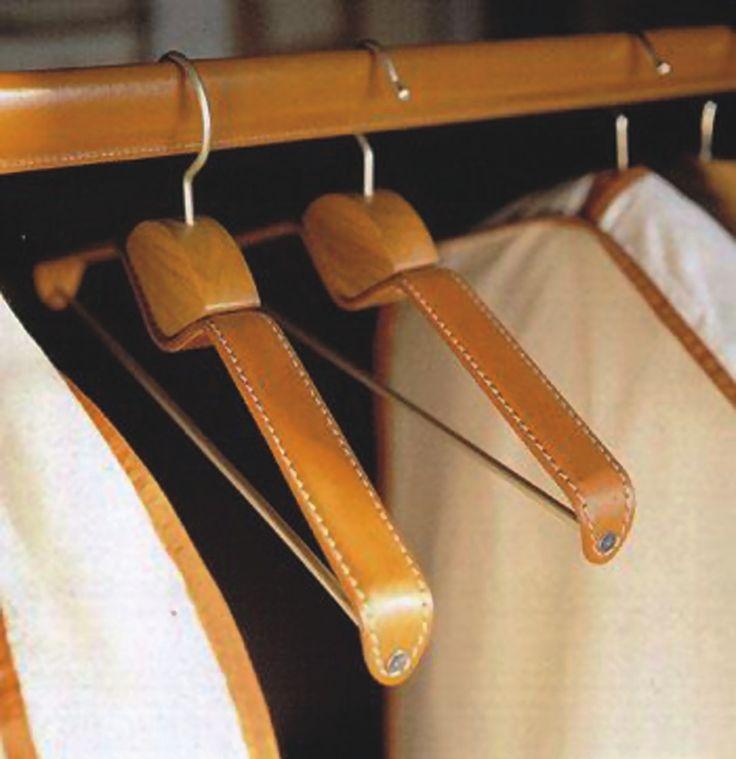 COAT HANGERS - Bespoke Leather Accessories - Herbert Direct Product Catalogue