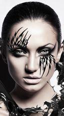 Daggar Stripes Kit, Black Body Sticker Stripes, Black Body Sticker Art