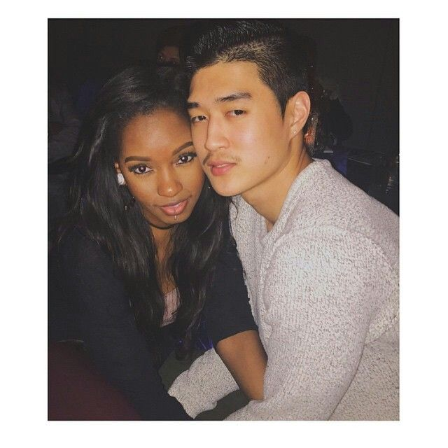 Blasian couple highschool sweethearts 4