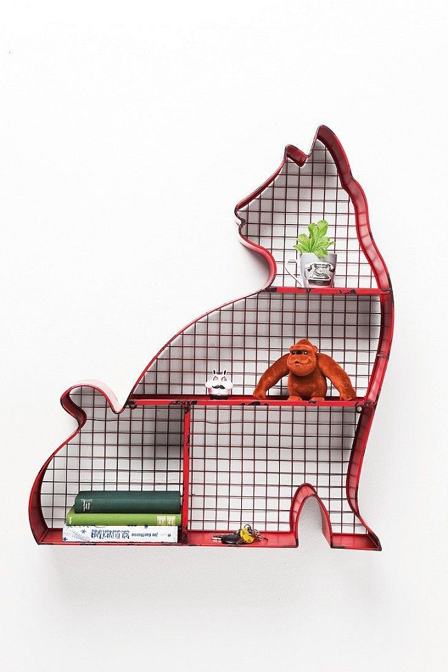 urban outfitters cat shelf