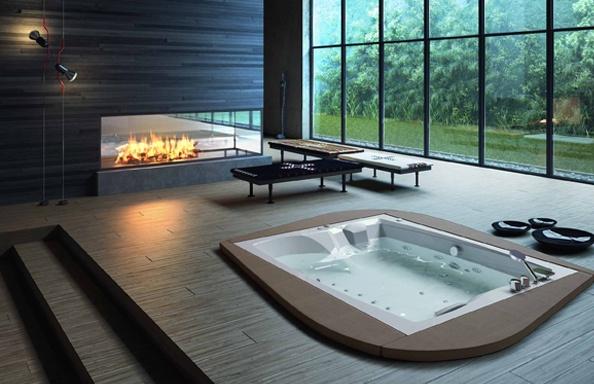 Vasche idromassaggio e minipiscine | Aqua & Vetro