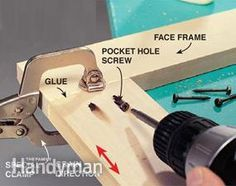 Pocket screws let you assemble perfect, indestructible cabinet joints without expensive woodworking tools or complicated jigs—a huge leap forward for beginning woodworkers.