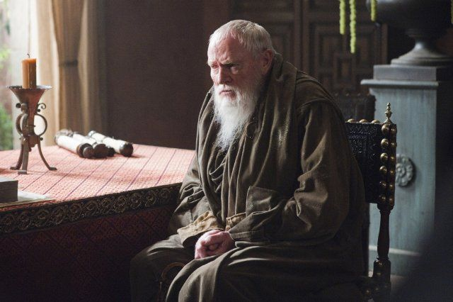 Julian Glover as Maester Pycelle in Game of Thrones
