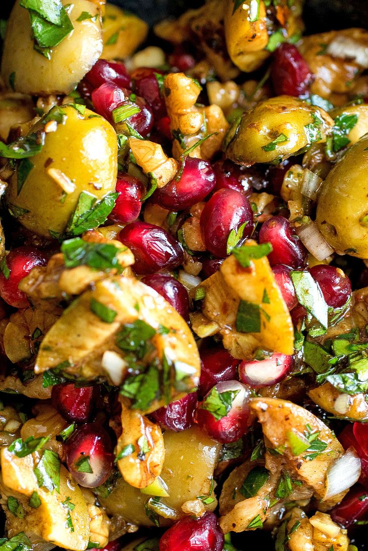 Cracked Green Olive, Walnut and Pomegranate Relish Recipe - NYT Cooking