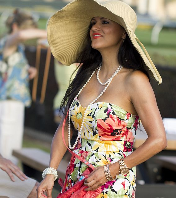 Classic Del Mar Horse Races outfit by San Diego Shooter, via Flickr