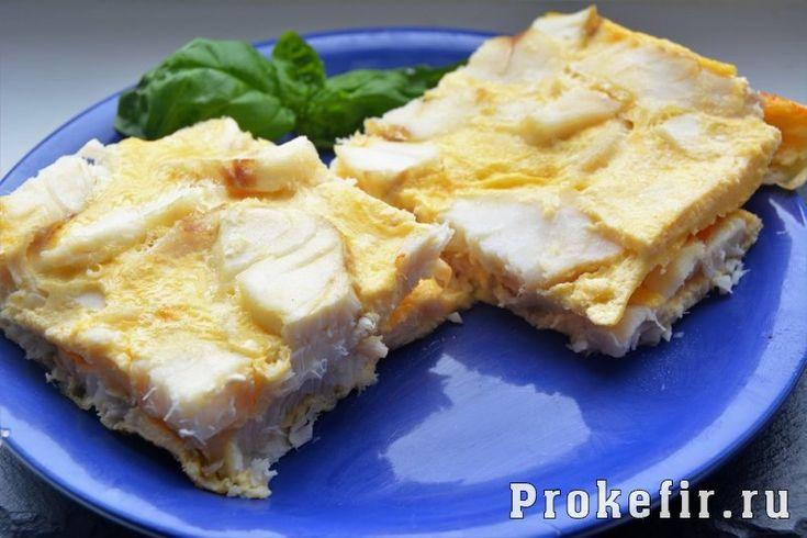 Рыба в омлете в духовке рецепт как в садике на кефире