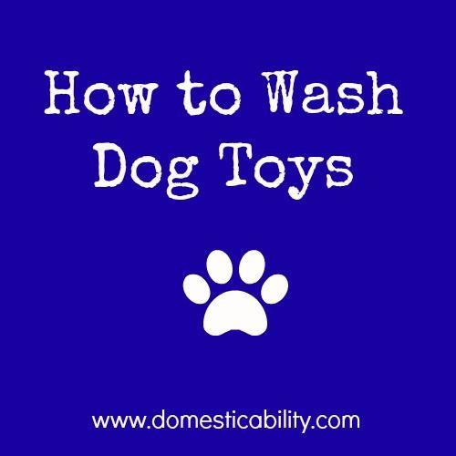 Wash Dog Toys