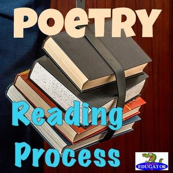 Reading - Poetry Reading Process Handout by HappyEdugator | Teachers Pay Teachers
