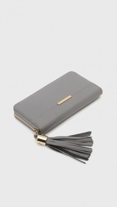 See by Chloe Wallet in Cashmere Grey | The Dreslyn
