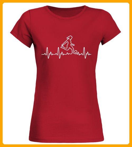 Herz fr Fussball Frau - Fußball shirts (*Partner-Link)