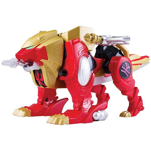 Toys R Us Lion Toys : Power rangers super megaforce deluxe zord vehicle with