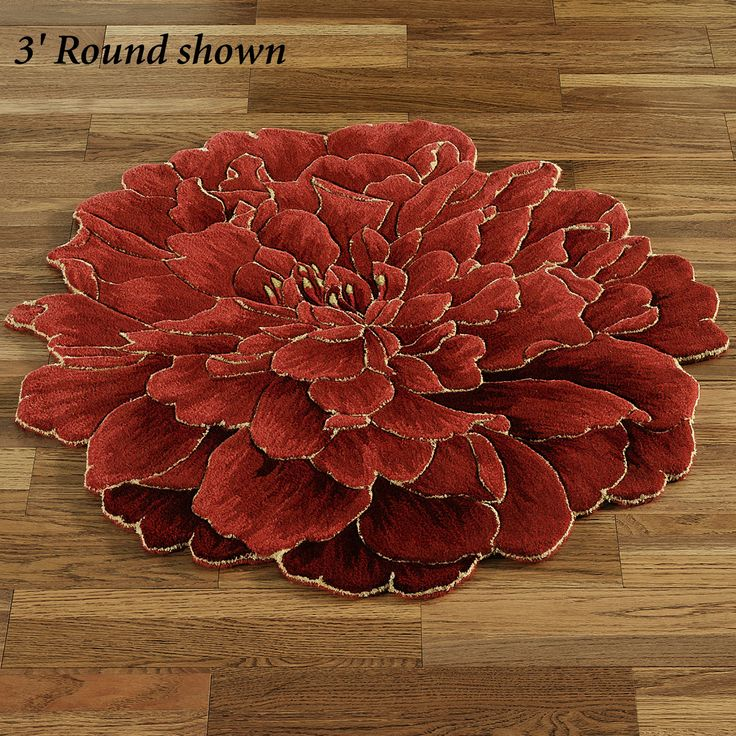 18 Best Blooming Rugs Images On Pinterest Circular Rugs Painting On