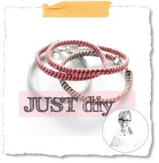 ★live life deeply-now★DIY★Lifestyle★Food★Design: JUST diy :: Fischgrät-Armband