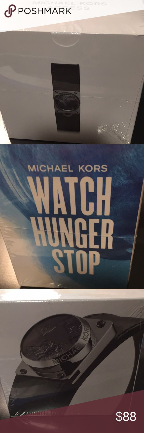 Michael kors watch hunger stop New in package!!! Never used. Color is black. Michael Kors Accessories Watches
