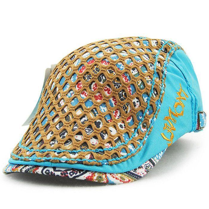Fashion cotton printing women's Visors hat Cap Newsboy cap Beret Hat Flat hats for women