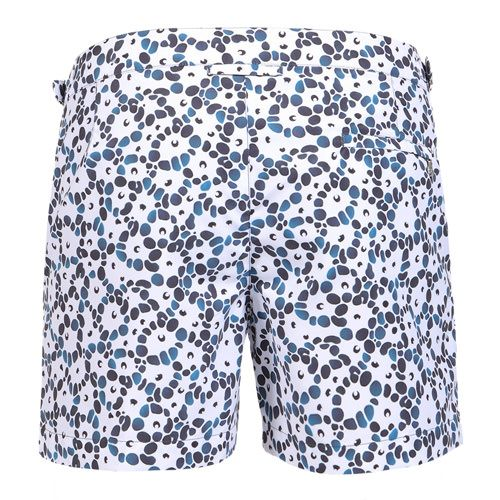 JACQUARD SETTER CORAL MID-LENGHT BOARDSHORTS