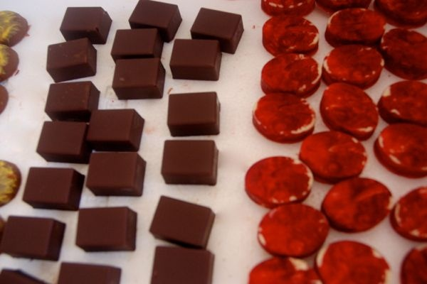 """Keep Calm and Eat Chocolate"" #chocolate #Nevis"