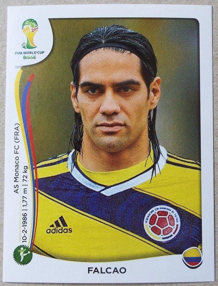 PANINI STICKER - FIFA - WORLD CUP 2014 - No 202 - FALCAO - COLOMBIA    eBay