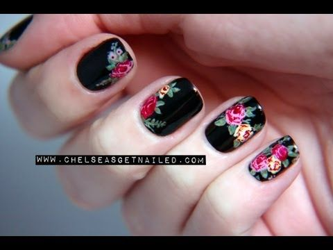 The tutorial everyone has been asking for...the Doc Martens vintage roses! It definitely is a lot easier than it looks, and I really hope you all enjoy it.     Be sure to check out the nail art kit for this design here: http://www.nastynails.com/rockin-roses    The nail art kit includes everything shown in this video, all for a great price!    Thanks ...