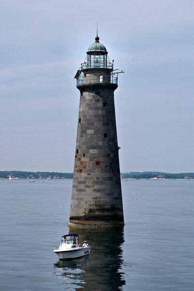 Minot's Ledge Light, Cohasset, Massachusetts