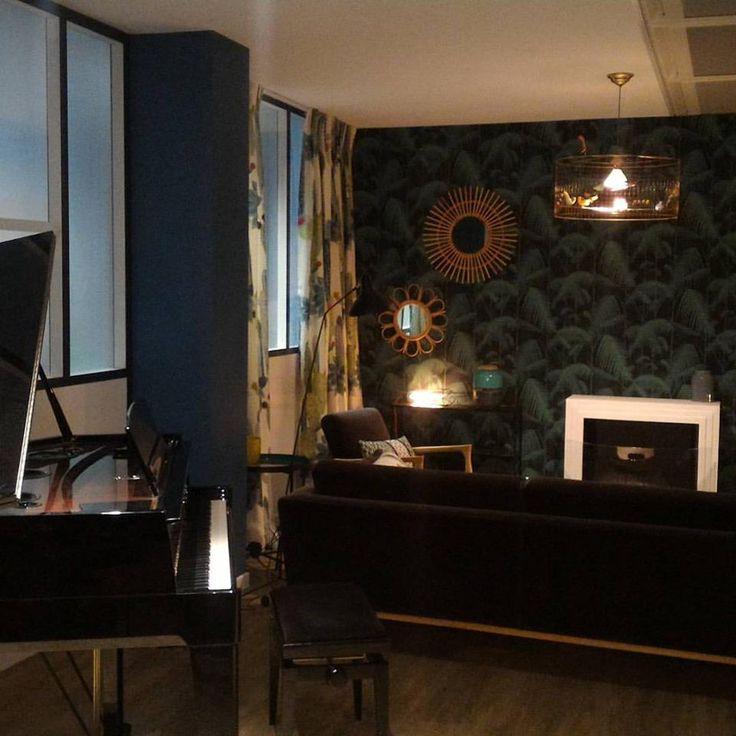 d coration de l 39 appartement du magazine gala nich au sein. Black Bedroom Furniture Sets. Home Design Ideas